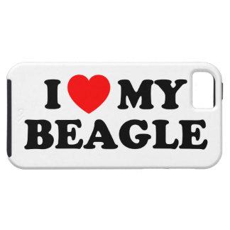 I Love my Beagle iPhone 5 Case
