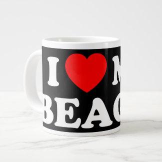 I Love my Beagle Jumbo Mug 20 Oz Large Ceramic Coffee Mug