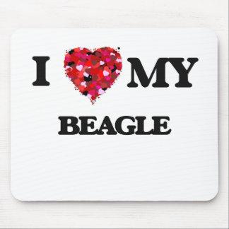 I love my Beagle Mouse Pad