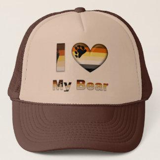 I Love My Bear / Cub Trucker Hat