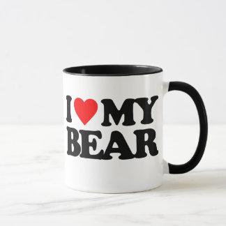 I LOVE MY BEAR MUG