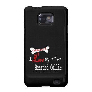 I Love My Bearded Collie Samsung Galaxy S Cases