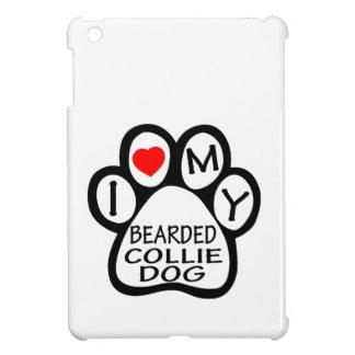 I Love My Bearded Collie Dog Case For The iPad Mini