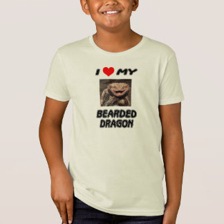 I LOVE MY BEARDED DRAGON - ADD YOUR OWN PHOTO T-Shirt