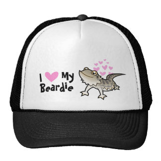 I Love My Bearded Dragon / Rankin Dragon Trucker Hat