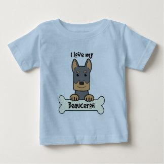 I Love My Beauceron Baby T-Shirt