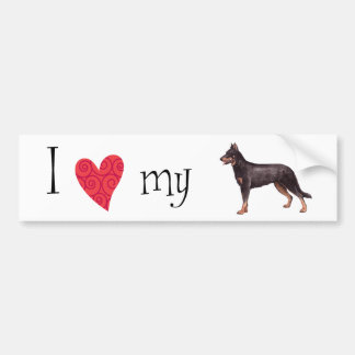 I Love my Beauceron Bumper Sticker