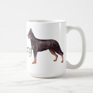 I Love my Beauceron Coffee Mug