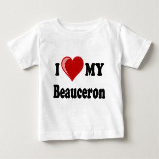 I Love My Beauceron Dog Baby T-Shirt