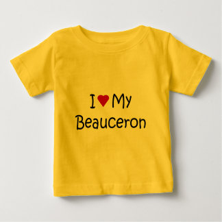 I Love My Beauceron Dog Lover Gifts and Apparel Baby T-Shirt