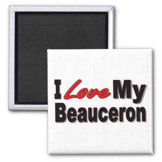 I Love My Beauceron Merchandise Magnet