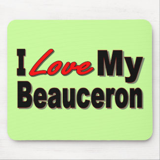 I Love My Beauceron Merchandise Mouse Mat