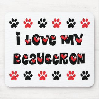 I Love My Beauceron Mouse Pad