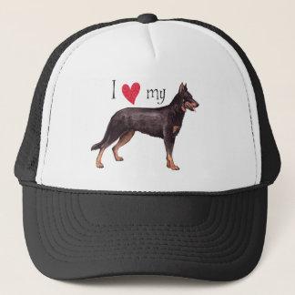 I Love my Beauceron Trucker Hat