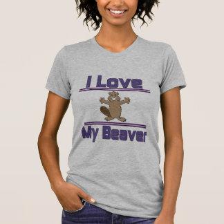 I Love My Beaver T-shirts