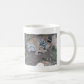 I love my bed! coffee mug
