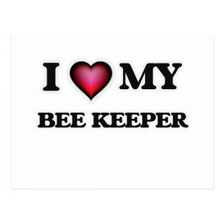 I love my Bee Keeper Postcard