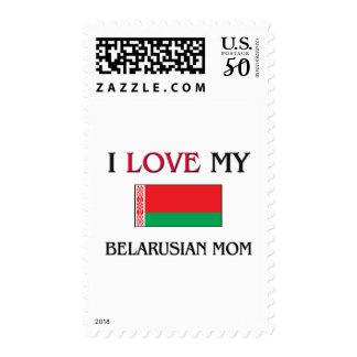 I Love My Belarusian Mom Postage