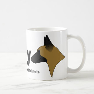 I Love My Belgian Malinois Coffee Mug
