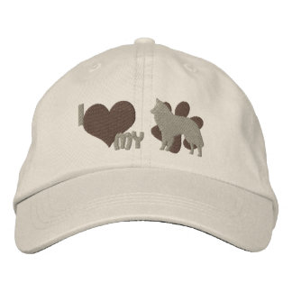 I Love my Belgian Sheepdog Embroidered Hat