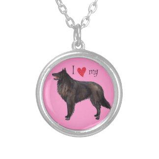 I Love my Belgian Sheepdog Custom Jewelry