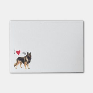 I Love my Belgian Tervuren Post-it Notes