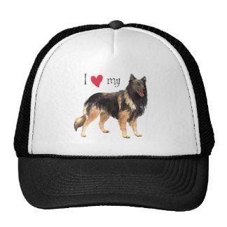 I Love my Belgian Tervuren Trucker Hat
