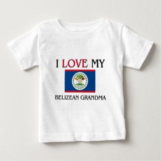 I Love My Belizean Grandma Baby T-Shirt