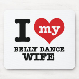 I love my belly dance Boyfriend Mouse Pad