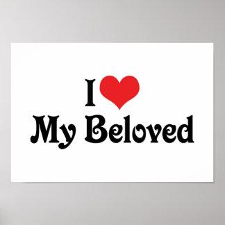 I Love My Beloved Poster
