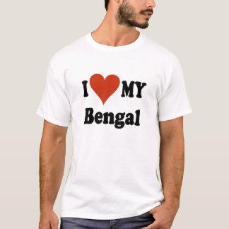 I Love My Bengal TShirt