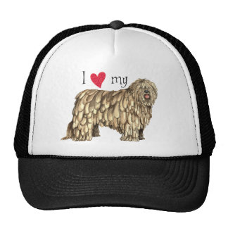 I Love my Bergamasco Trucker Hat