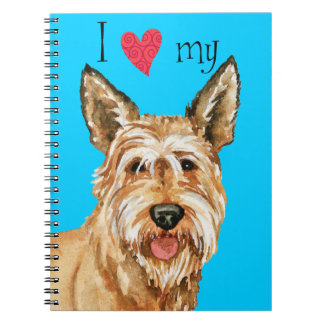 I Love my Berger Picard Notebook