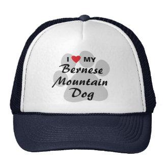 I Love My Bernese Mountain Dog Trucker Hat