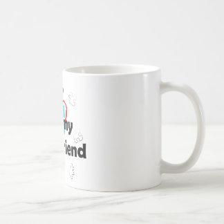 I Love My Best Friend - Autism Coffee Mug
