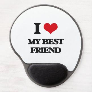 I love My Best Friend Gel Mouse Pad