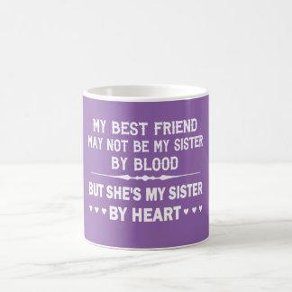 I LOVE MY BEST FRIEND - MY SISTER COFFEE MUG