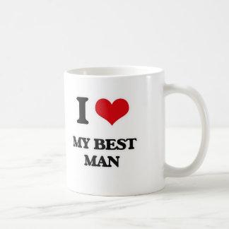 I Love My Best Man Coffee Mug