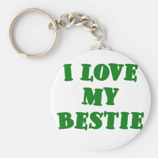 I Love my Bestie Keychains