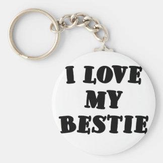 I Love my Bestie Keychain