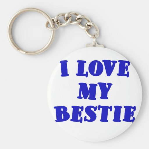 I Love my Bestie Key Chain