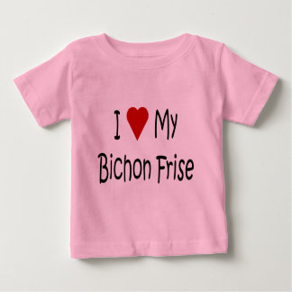 I Love My Bichon Frise Dog Lover Gifts Infant T-shirt