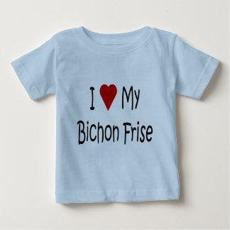 I Love My Bichon Frise Dog Lover Gifts Shirt