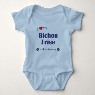 I Love My Bichon Frise (Female Dog) T-shirt