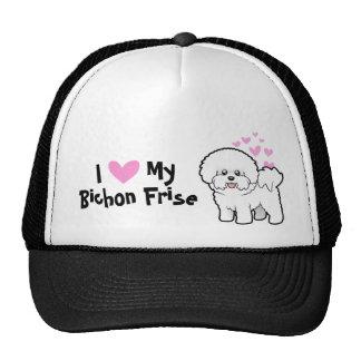 I Love My Bichon Frise Trucker Hat