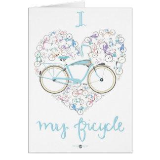 I love my Bicycle.jpg Card