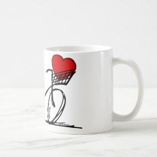 I love my bicycle - mug
