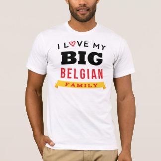 I Love My Big Belgian Family Reunion T-Shirt Idea
