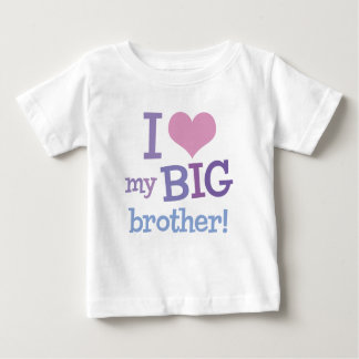 I Love My Big Brother Baby T-Shirt
