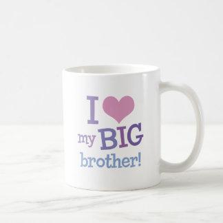 I Love My Big Brother Classic White Coffee Mug